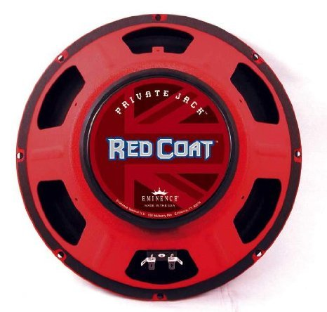 Eminence Private Jack Red Coat Speaker, 8 オーム