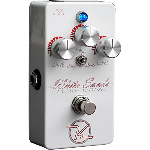 Keeley エフェクター White Sands Luxe Drive Guitar Effects Pedal キーリー ホワイト サンド ルクシュ
