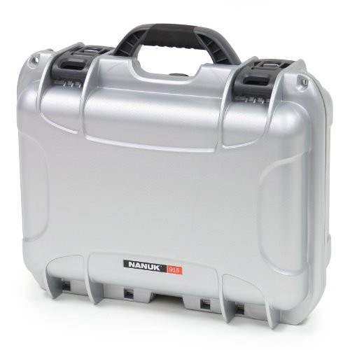 Nanuk トラスト 915 Case 1着でも送料無料 with Padded Divider Silver