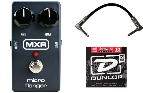 MXR M152 Micro Flanger ペダル w/1 Set of Strings and Patch Cable