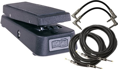 Dunlop GCB-80 High Gain Volume ペダル w/ 4 Cables