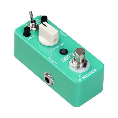 Mooer (ムーア) ギターエフェクトペダル Green Mile Overdrive True Bypass Free 6 Ways Cable