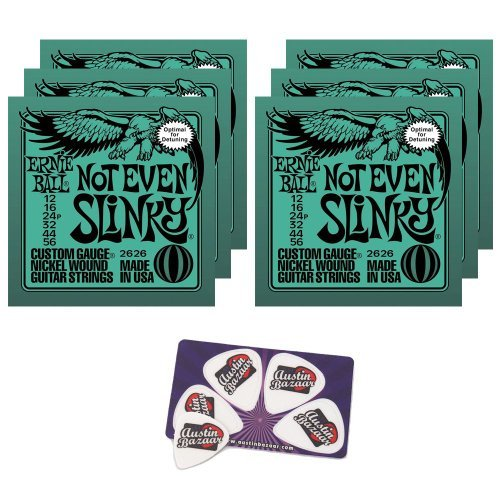 Ernie Ball (アーニーボール) 2626 Not Even Slinky String Set (12 - 56) Droptuning エレキギター 弦 -