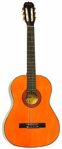 Lauren LA100C 39-Inch Full-Size Nylon String クラシカルアコースティックギター - Natural クラシック