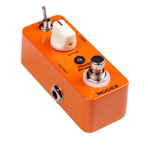 Mooer (ムーア) ギターエフェクトペダル Ninety Orange (オレンジ) Phaser True Bypass Free 6 Ways Cabl