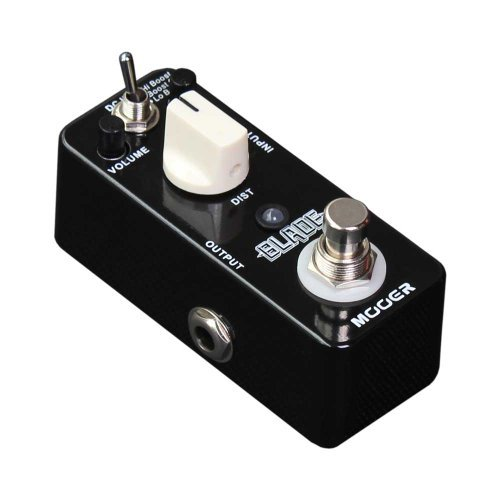 Mooer (ムーア) Blade ディストーション Compact ギターエフェクトペダル W/6 Way Daisy Chain Cable