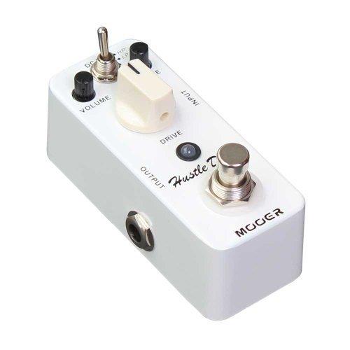 Mooer (ムーア) ギターエフェクトペダル Hustle Drive ディストーション True Bypass Free 6 Ways Cable