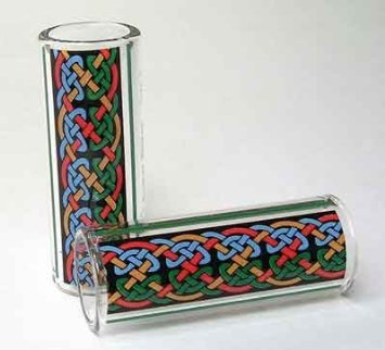 Hall Guitar Slide 8293 - Pyrex Glass Size 2 Regular - Lurgan Celtic