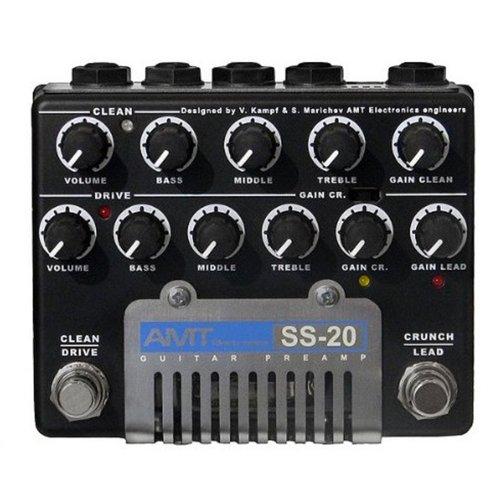 AMT Electronics ギターチューブプリアンプシリーズ SS-20 ペダルタイプ・プリアンプ
