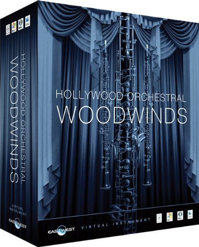 ◆EASTWEST Hollywood Orchestral Woodwinds Gold Edition Win/Mac版 木管楽器音源 EW-206