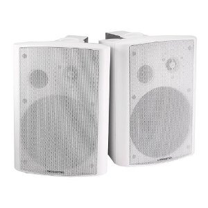 2-Way Active Wall White Mount 25W Speaker スピーカー (Pair ペア) - ペア) 25W - White, パーリーゲイツ by ゴルフウェーブ:89883645 --- sunward.msk.ru