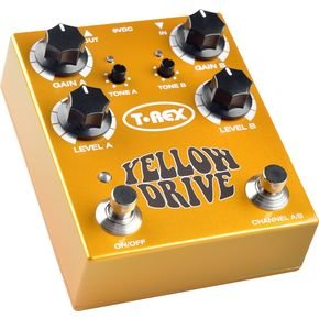 T-Rex Engineering Yellow Drive Distortion Guitar Effects Pedal/アンプ/エフェクター