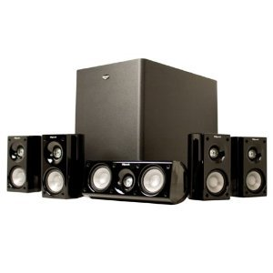 Klipsch クリプシュ HD 500 Compact コンパクト 5.1 Home Theater ホームシアター System (Set of Six, B