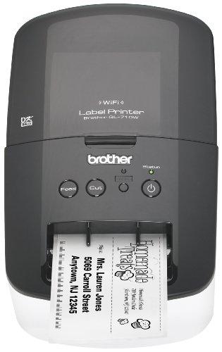 ワイヤレスネットワーク対応 ブラザー高速ラベルプリンタ(QL710W) Brother社