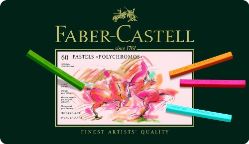 Polychromos Artists Pastels Tin Of 60 アートペン