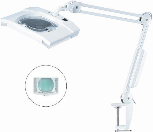 Ultra-Efficient 108 LED 拡大鏡ランプ(大7×6 レンズ5) Pro Magnify社