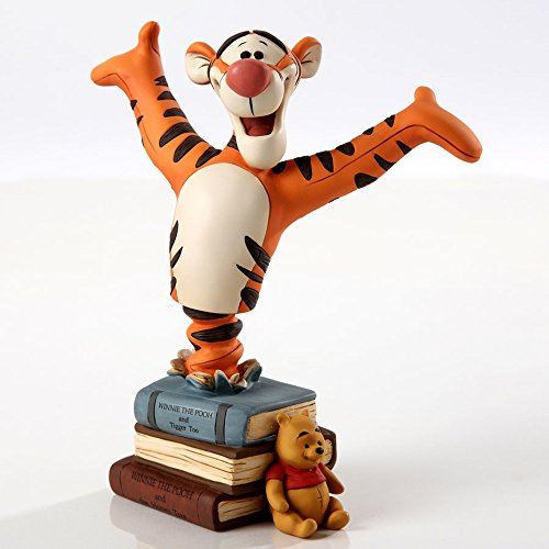 Enesco Grand Jester Tigger Figurine, 6.375-Inch