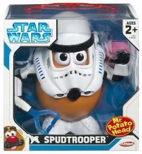 Playskool Mr. Potato Mr. Head (ミスターポテトヘッド) Star Wars - (スターウォーズ) - Trooper Legacy Spud Trooper, 印章製造直販本舗 こだわり屋:104ab8a7 --- jpworks.be