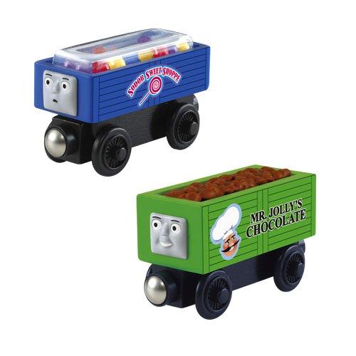 きかんしゃトーマス 木製レール いたずら貨車とお菓子 Y4107