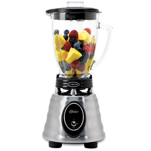 オスターブレンダー 6カップ ガラスジャー ステンレス  Oster BPCT02  6-Cup Glass Jar 2-Speed Toggl