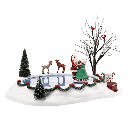 Department 56 Decorative Accessories for Village Collections, Christmas Waltz Animated, 2.95-Inch