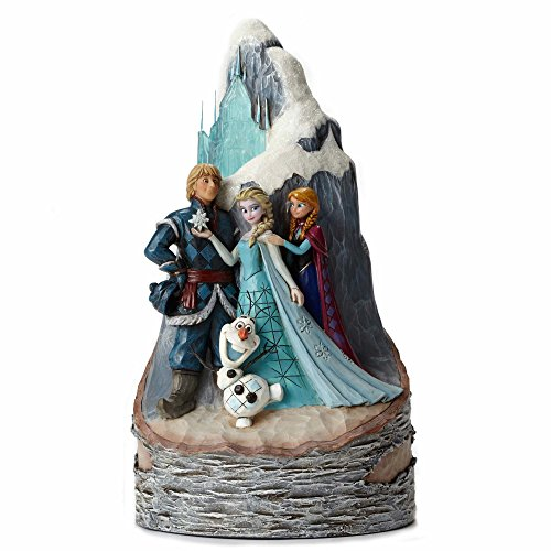 Disney Traditions Frozen Scene Carved by Heart