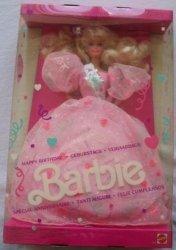 1990 ハッピーバースデー バービー 人形