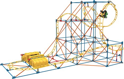 K'Nex(ケネックス) Hyperspeed Hangtime Roller Coaster Building Set ブロック