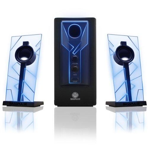 パワードサブウーファー/GOgroove BassPULSE2.1 ステレオスピーカーサウンドシステム Accessory Power