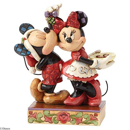 Enesco(エネスコ) Disney Traditions Mickey and Minnie Mistletoe 4039039