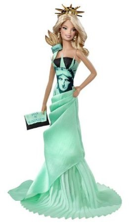 Barbie(バービー) Collector Dolls of the World Statue of Liberty Doll ドール 人形 フィギュア