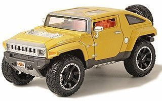 Hummer HX Concept in Yellow (1:24 scale) by Maisto