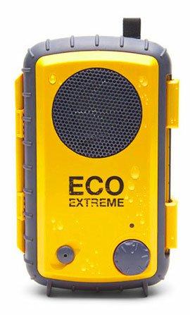 ECOXGEAR アウトドア スピーカー搭載 防水パック ECO EXTREME イエロー GDI-AQCSE104