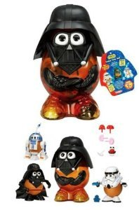 Mr. Potato Head (ミスターポテトヘッド) Star Wars (スターウォーズ) Darth Tater 3 Character Set