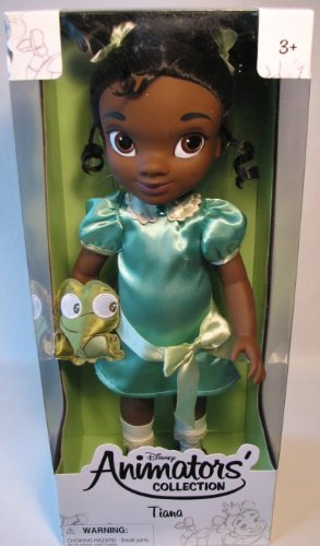Disney ディズニー Princess Animators Collection 16 Inch Doll Figure Tiana 人形 ドール