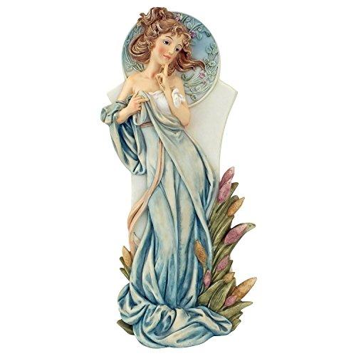 Design Toscano Art Nouveau Maiden Statue, Spring