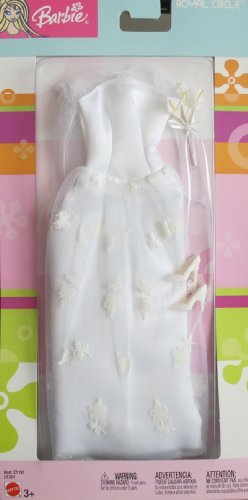バービー BARBIE Royal Circle WEDDING FASHIONS Bride BRIDAL GOWN OUTFIT (2003) ドール 人形 フィギュ