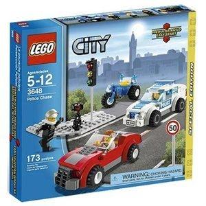 レゴ シティ ポリスカーチェイス 3648