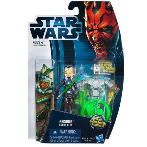 Hasbro スター・ウォーズ 2012 クローン・ウォーズ ベーシックフィギュア アソーカ・タノ スキューバギア