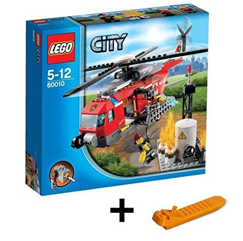 レゴ シティ ファイヤーヘリコプター 60010 + レゴ 630 ブロックはずし(プレゼントし)