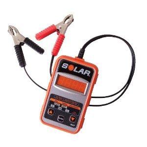 SOLAR BA7 12VバッテリーデジタルCCAテスター&システムテスター