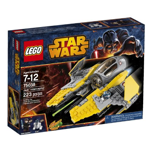 LEGO Star Wars 75038 Jedi Interceptor by LEGO [Toy]