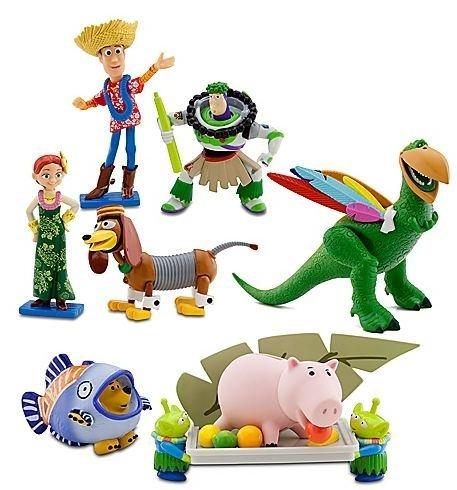 Disney ディズニー Toy Story Hawaiian Vacation Deluxe 7 Figurine Set フィギュア 人形 おもちゃ