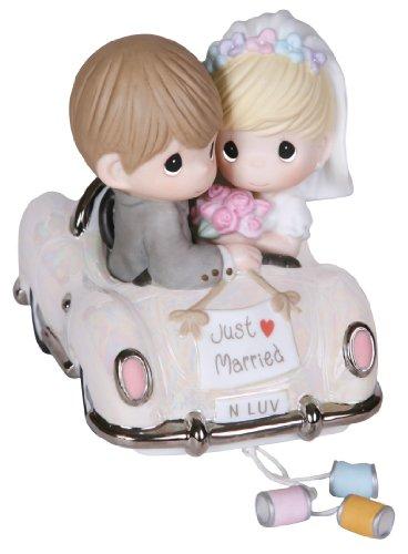 Precious Moments プレシャスモーメント フィギュア 結婚 Just Married 103018 「」