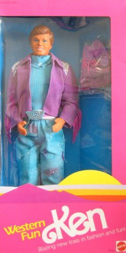 バービー Barbie - Western Fun KEN ケン Doll (1989 Mattel マテル Hawthorne) ドール 人形 フィギュア