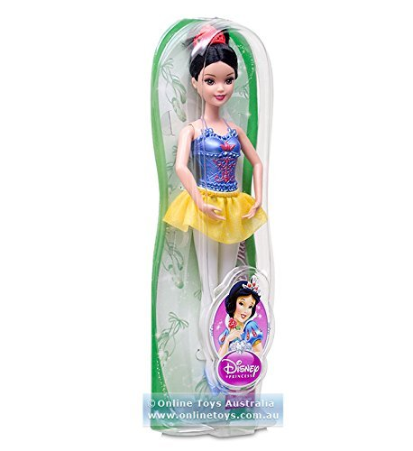 Disney Princess Ballerina Ariel, Cinderella and Snow White Doll Giftset by Mattel
