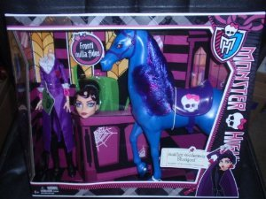 Monster High (モンスターハイ) Headless Headmistress Bloodgood & Her Horse Nightmare ドール 人形 フ