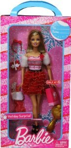 Holiday Surprise Barbie(バービー) ドール 人形 フィギュア