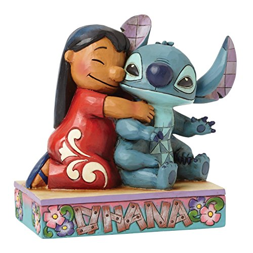 Enesco Disney Traditions by Jim Shore Lilo and Stitch Figurine, 4.875 IN by Enesco