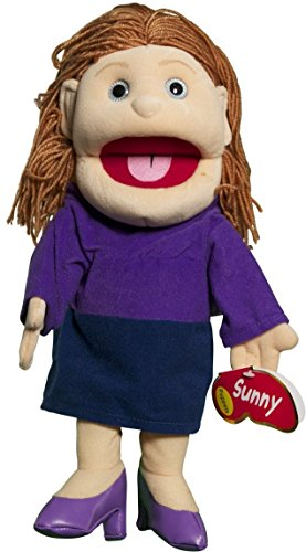 Sunny Toys 14' Mom In Purple Dress Glove Puppet
